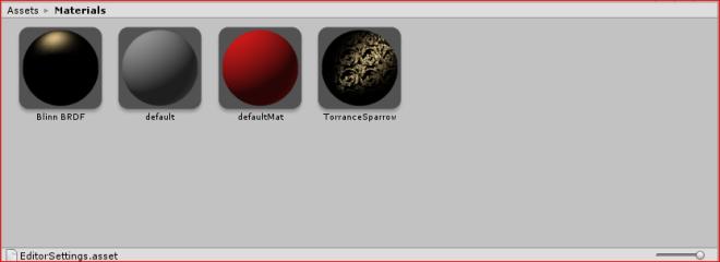 Unity-Materials