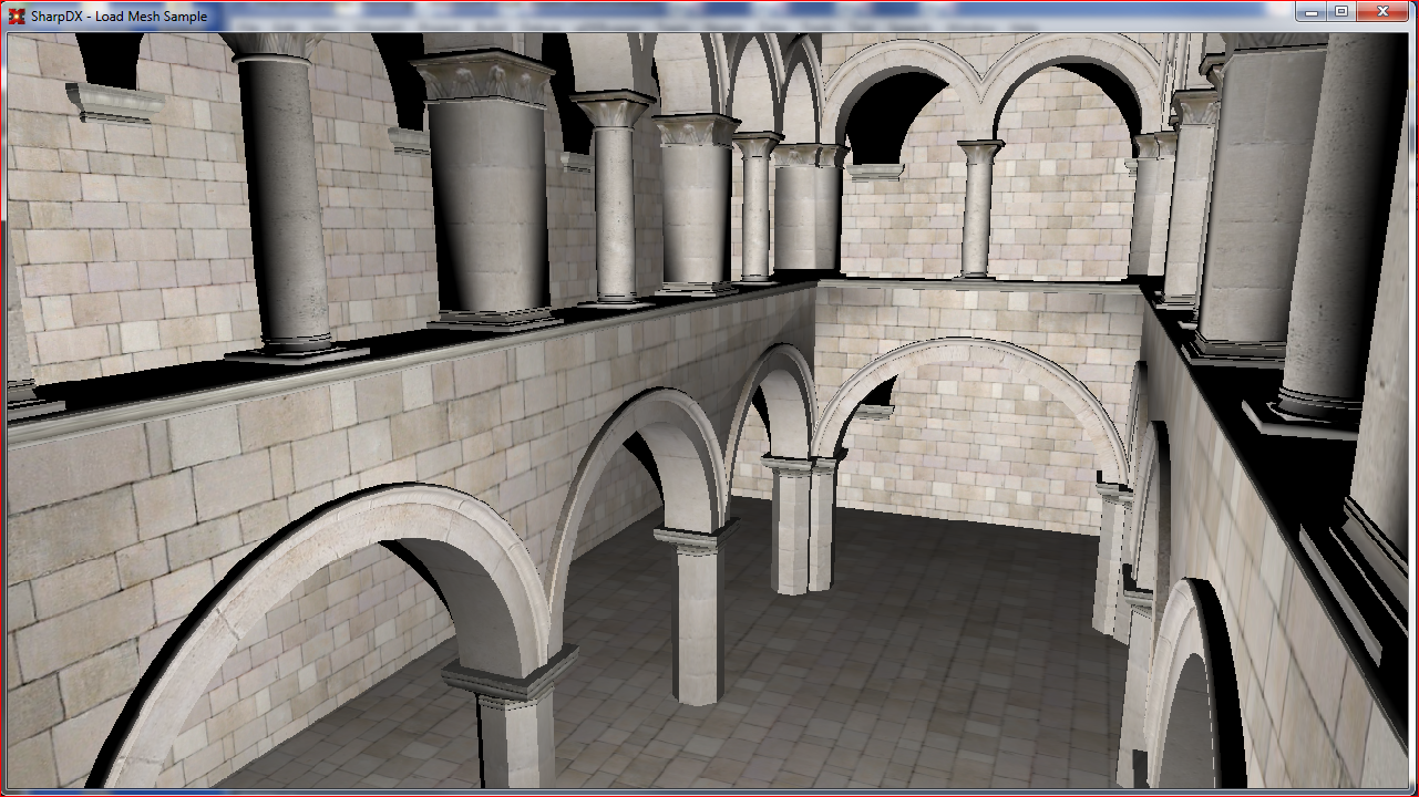 SharpDX and 3D model loading – Interplay of Light